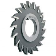 Fresa Circular, Corte 3 Lados, Dentes Retos - Med. 50 x 6 x 16mm - DIN 885 BH - Aço M2 - INDAÇO