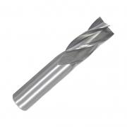 Fresa Topo Reto HSS - Med. 10mm - Haste Cilíndrica 4 Cortes