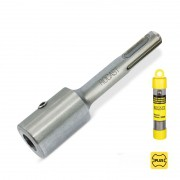 Haste Adaptadora Com Encaixe PLUS Para Broca Haste Paralela - 8,0mm - Ref. 44,0008 - ROCAST