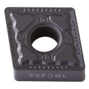Inserto Pastilha CNMG 120404 PM YBG202 - Caixa com 10 Peças - JG TOOLS
