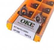 Inserto Pastilha RT16.01G - G55H OP1205 Rosca Externa - OKE