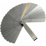 Jogo Calibre de Folga 32 lâminas Med. 0,03 à 1,0mm
