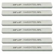 Kit 6 Bits Quadrado 3/8 X 6 - Com 50% De Cobalto - HARDSTEEL