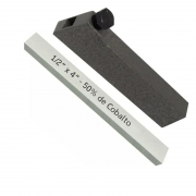 Kit Bits Quadrado 1/2 X 4 - 50% De Cobalto + Porta Bits 1/2