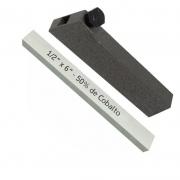 Kit Bits Quadrado 1/2 X 6 - 50% De Cobalto + Porta Bits 1/2
