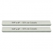 Kit Bits Quadrado 1/4 X 6 - Com 50% De Cobalto - 2 Peças