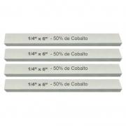 Kit Bits Quadrado 1/4 X 6 - Com 50% De Cobalto - 4 Peças
