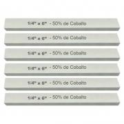 Kit Bits Quadrado 1/4 X 6 - Com 50% De Cobalto - 6 Peças