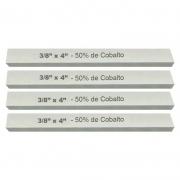 Kit Bits Quadrado 3/8 X 4 - Com 50% De Cobalto - 4 Peças