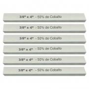 Kit Bits Quadrado 3/8 X 4 - Com 50% De Cobalto - 6 Peças