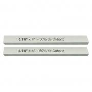 Kit Bits Quadrado 5/16 X 4 - Com 50% De Cobalto - 2 Peças