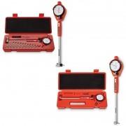 Kit Comparador Diâmetro Interno Súbito- Cap.35-60 e 50-160mm