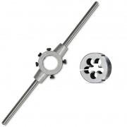 Kit Cossinete Aço Liga - M10 X 1,25 e Porta Cossinete 1