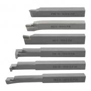 Kit Ferramenta Soldada Para Torno Med. 10mm Direita - 6 PÇS