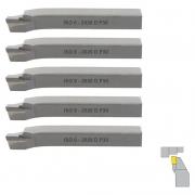 Kit Ferramenta Soldada Para Torno Iso6 2020 D P30 - 5 Peças