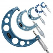Kit Jogo De Micrômetros Externos 0 - 125mm - 5 peças