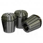 Kit Jogo de Pinças ER32 com 3 Peças - Cap. 2 a 5mm - 3 Pçs