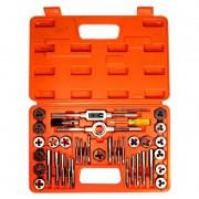 Kit Para Roscar Aço Liga - (UNC-UNF) - WS - 40 peças - Rocast