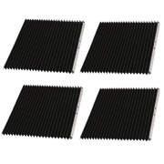 Kit Proteção Sanfonada ISO30 E ISO40 450 x 500 + 380 X 600mm