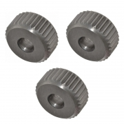 Kit Recartilha Reta 3/4 Passo 1,0 + 1,2 + 1,5 mm