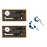 Kit Súbito 18-35 e 35-50 + Micrômetro 0-25 e 25-50 - 4 Pçs