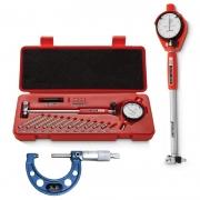 Kit Súbito Med. 35 a 60mm + Micrômetro Externo Med. 25-50mm