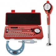 Kit Súbito Med. 50 a 160 + Micrômetro Externo Med. 75-100mm