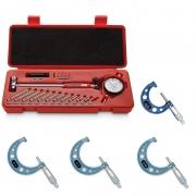 Kit Súbito Med. 50 a 160mm + Jogo Micrômetro Externo 0-100mm