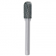 Lima Rotativa Cilíndrica Com Raio - Med. 8mm - Metal Duro