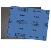 Lixa Ferro - Med. 230 x 280mm - Gr 60 - 25 Peças