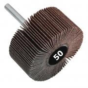 Lixa Rotativa Med. 70 x 20mm Haste 1/4 - Grana 50 - 1 Peça