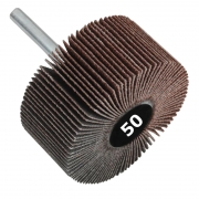 Lixa Rotativa Med. 50 x 20mm Haste 1/4 - Grana 50 - 1 Peça