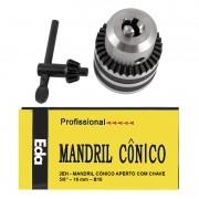 Mandril Med. 5/8 Com Chave - Super 1.0 a 16mm - Encaixe B18