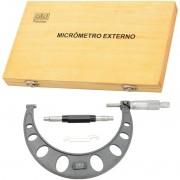Micrômetro Externo  - Cap. 100-125mm - Arco Em Ferro Fundido - 02,0006 - ZAAS
