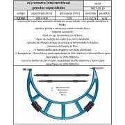 Micrômetro Intercambiável 300 A 400 mm x graduação 0,01 mm - JG TOOLS
