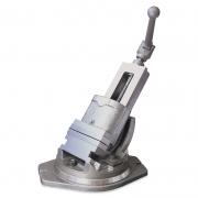 Morsa Giratória Reclinável para Máquina - Abertura 140mm