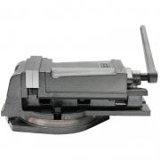 Morsa Mecânica De Precisão C/ Base Giratória Abert. 125mm