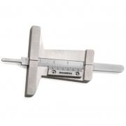 Paquímetro De Profundidade (Sulco De Pneu) - 30mm - Graduação 0,1mm