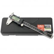 "Paquímetro Digital - 150mm/6"" - Resolução 0,01mm - Ref. 01,0004 - ZAAS"