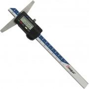 "Paquímetro Digital De Profundidade - Med. 150mm/6"" - DASQUA"