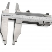 Paquímetro Para Serviços Pesados Com Orelhas Externas - 300mm - Prof. Do Bico 90 mm - Graduação 0,02mm