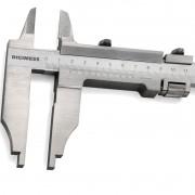 Paquímetro Para Serviços Pesados Com Orelhas Externas - 600mm - Prof. Do Bico 150 mm - Graduação 0,02mm