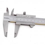 """Paquímetro Universal Guia TIN. Med. 150mm/6"""" ( 0,02mm/.001"""")"""