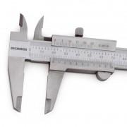 """Paquímetro Universal - 200mm/8"""" - Graduação 0,02mm/.001"""""""