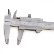 "Paquímetro Universal Com Guias De Titânio 150mm/6"" (0,02mm/.001"") - 100.002-TIN"