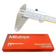 """Paquímetro Universal Com Guias De Titânio - Cap. 200mm/8"""" - Graduação 0,05mm - 530-114B-10 - MITUTOYO"""