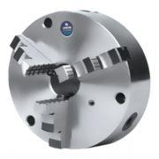 """Placa Para Retífica de Virabrequim Diâmetro 160mm/6"""" Com 3 Castanhas Monobloco - Corpo Em Ferro Fundido - 160.389-E - UNION"""