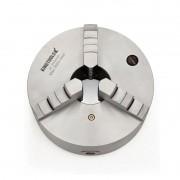 """Placa Para Torno Universal Diâmetro 200mm/8"""" Com 3 Castanhas Monobloco - Corpo Em Aço - Ref. 820.025 - KINGTOOLS"""