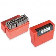 Punção Marcador Alfabético - Med. 6,0 mm - 27 Peças