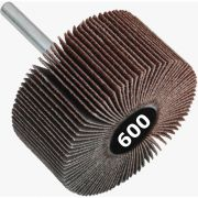 Roda de Lixa Mini PG / Minikontour - Med. 50mm x 20mm - Grana 600 - Grão Especial Quantidade 50 Peças - CONVERTOP